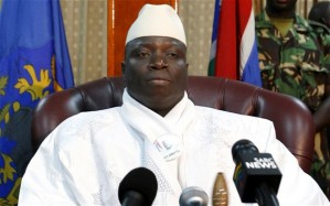 Gambian President Yahya Jammeh Photo: Reuters